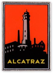 Alcatraz poster by Michael Schwabb