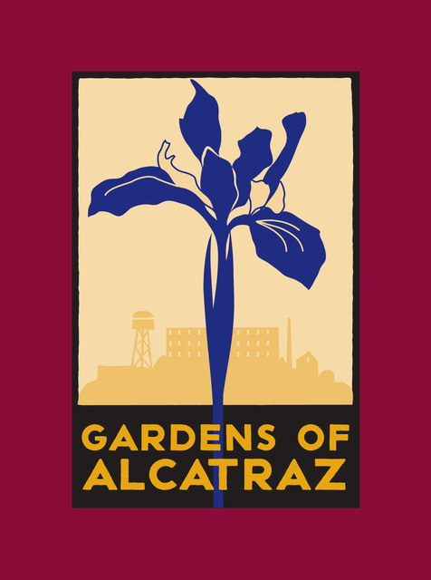 The Gardens of Alcatraz volunteer t-shirt.