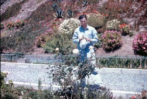 Inmate gardener, Elliot Michener. Photo courtesy of J. Simpson.