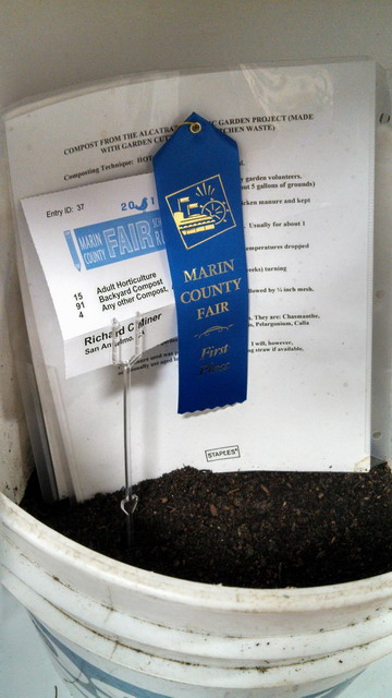 Awarded the Blue Ribbon for the best Compost!