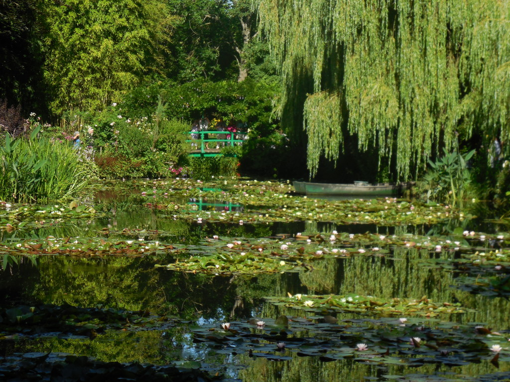 Waterlily pond at Giverny. Photo by Shelagh Fritz