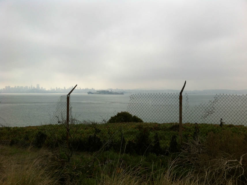 Alcatraz and San Francisco from Angel Island. Photo by Shelagh Fritz