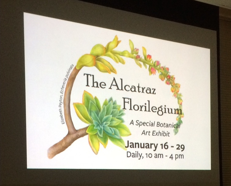 The Alcatraz Florilegium captures the collection of plants on Alcatraz.